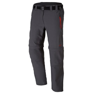 Campagnolo Oversize Stretch Long Pant Zipphose grey-campari Damen