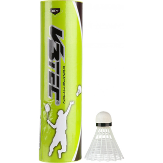 V3Tec Competition 6er Badmintonball - weiss