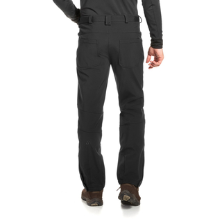 Maier Tech Pants M black - Softshellhose Herren