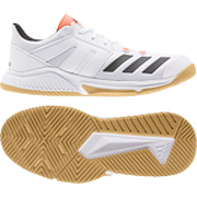 Adidas Essence white-black-orange - Hallenschuh Herren